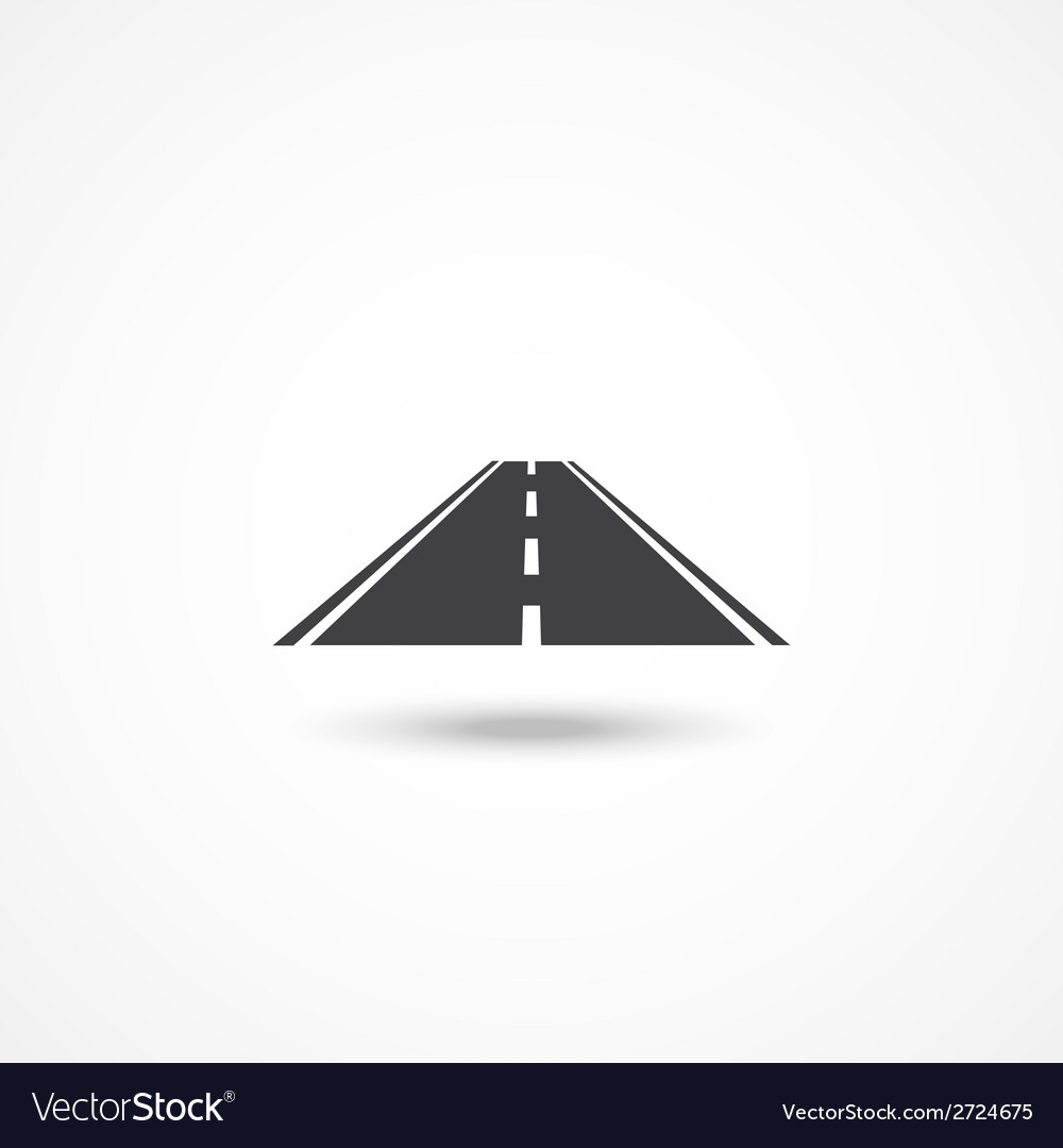 Road icon vector | Price: 1 Credit (USD $1)