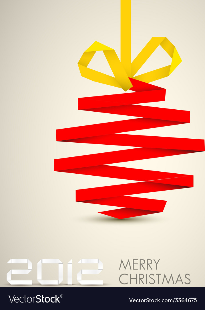 Simple christmas decoration vector | Price: 1 Credit (USD $1)