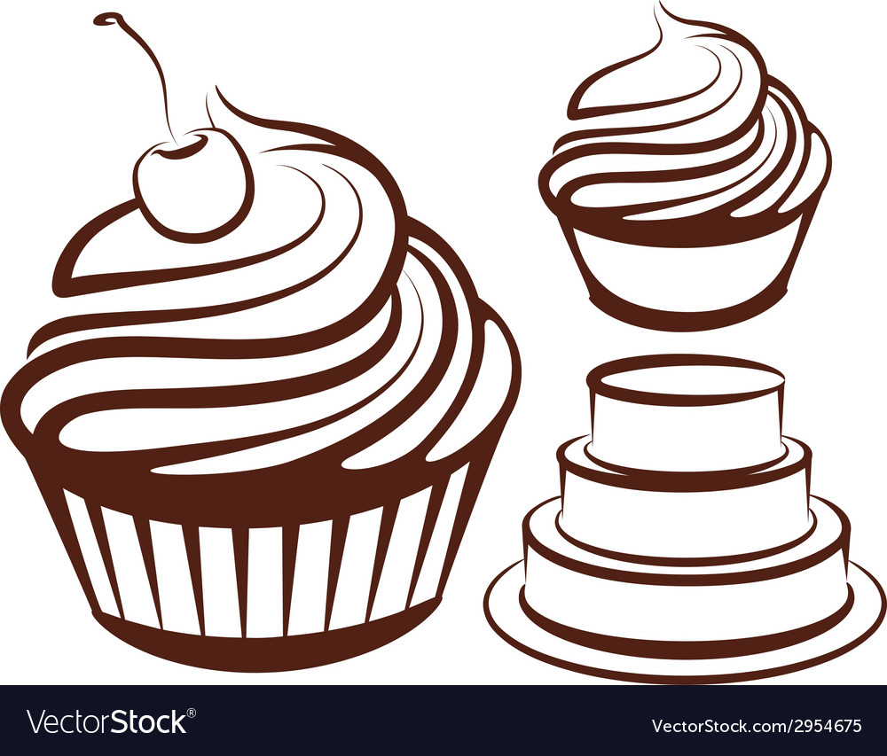 Simple with desserts vector   Price: 1 Credit (USD $1)