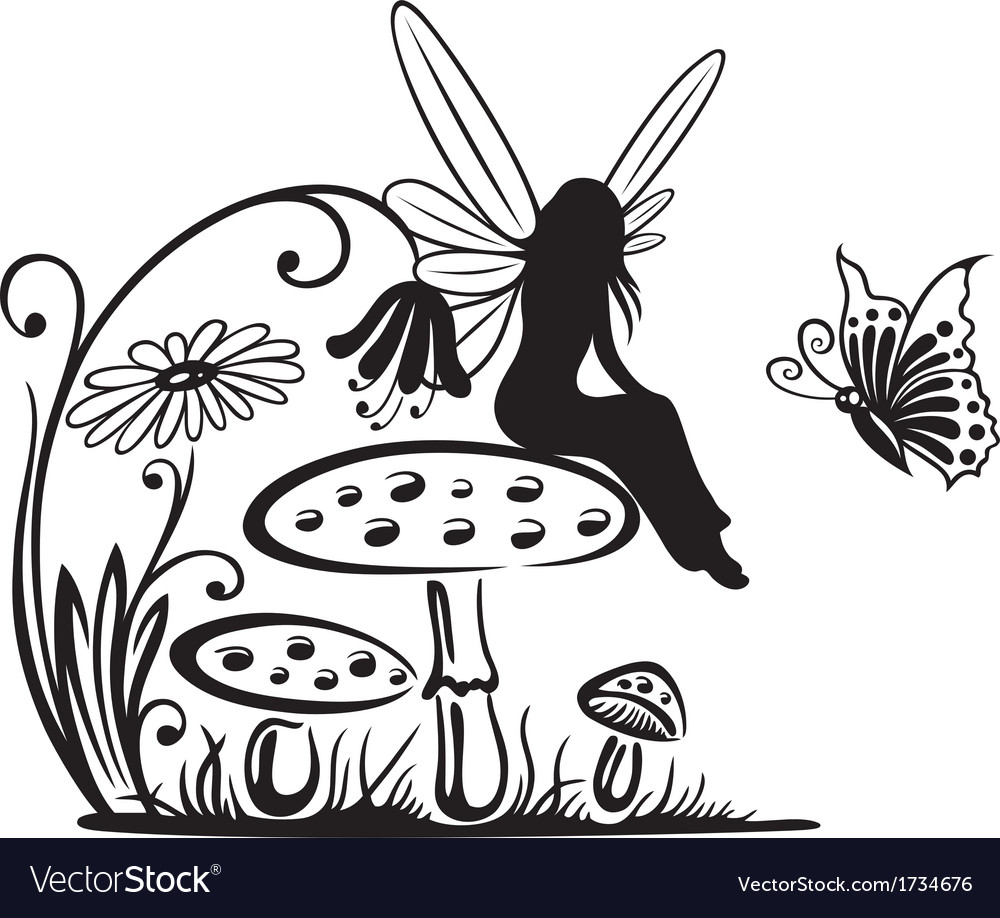 Fairy fantasy vector | Price: 1 Credit (USD $1)