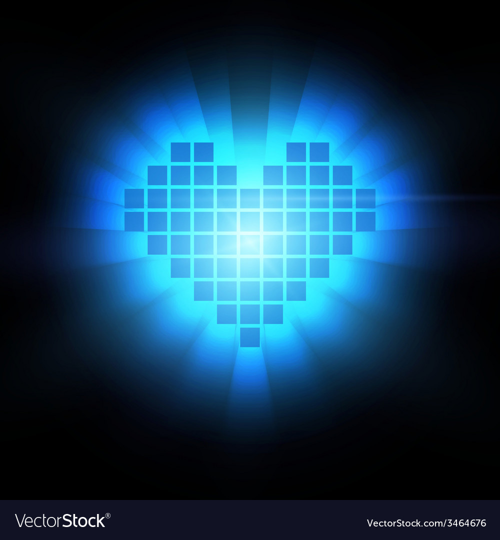 Heart energy health concept vector   Price: 1 Credit (USD $1)