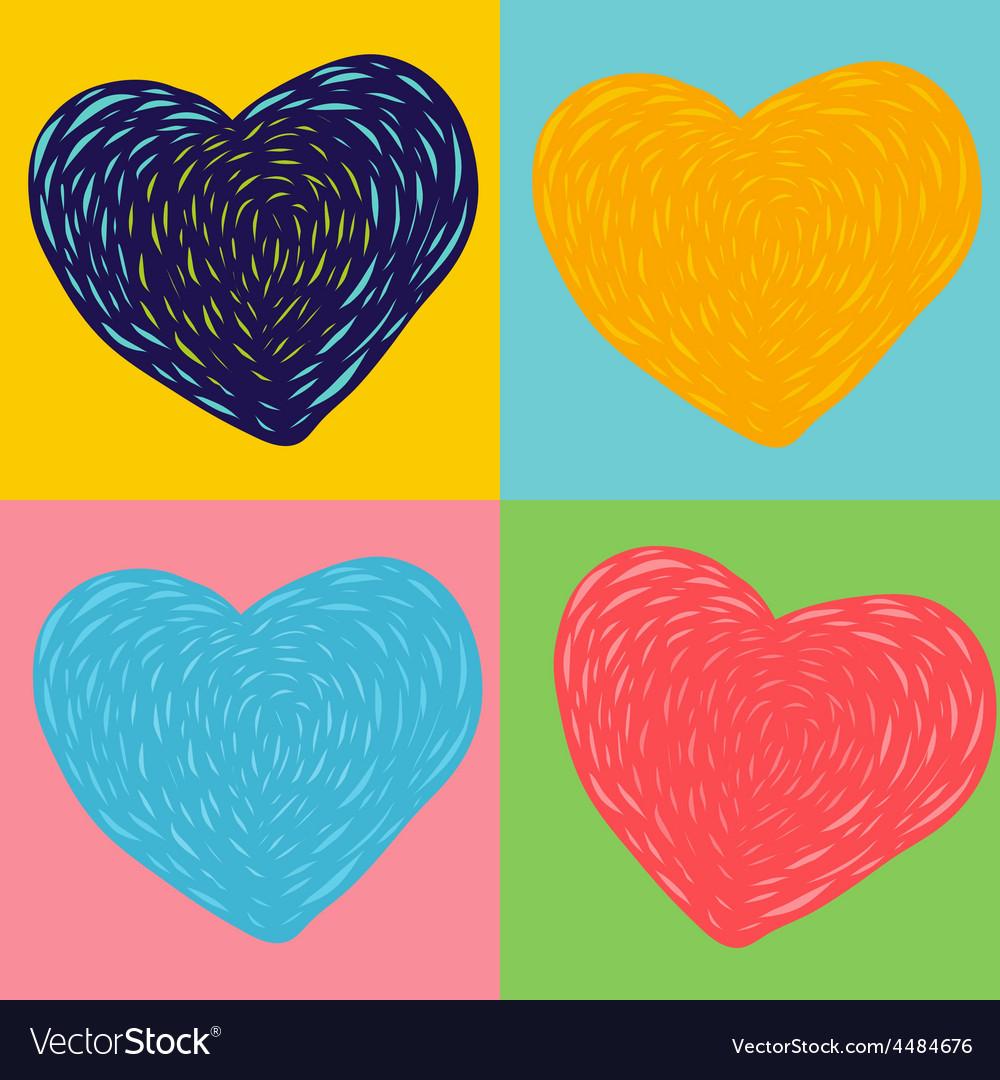 Heart imagine vector | Price: 1 Credit (USD $1)