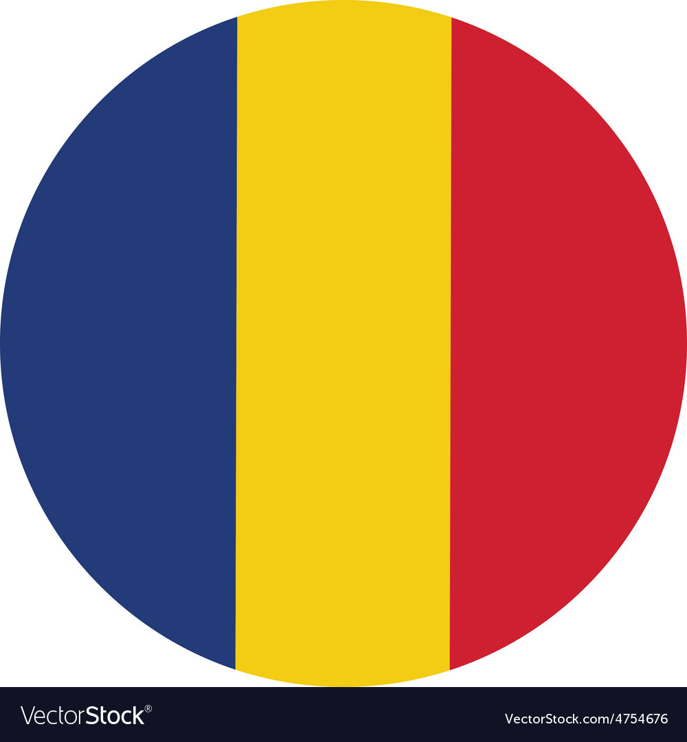 Romania flag vector | Price: 1 Credit (USD $1)