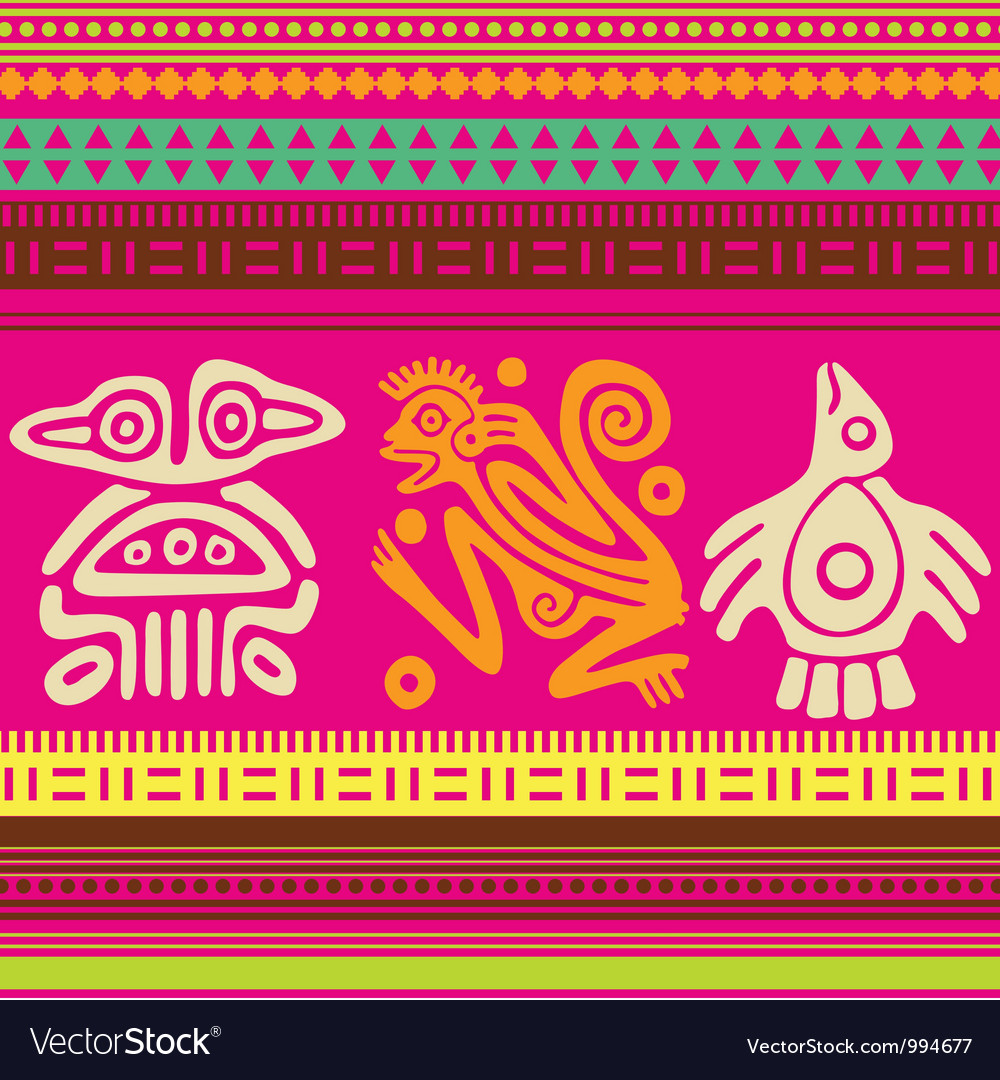 Ornamental african style motive 03 vector | Price: 1 Credit (USD $1)