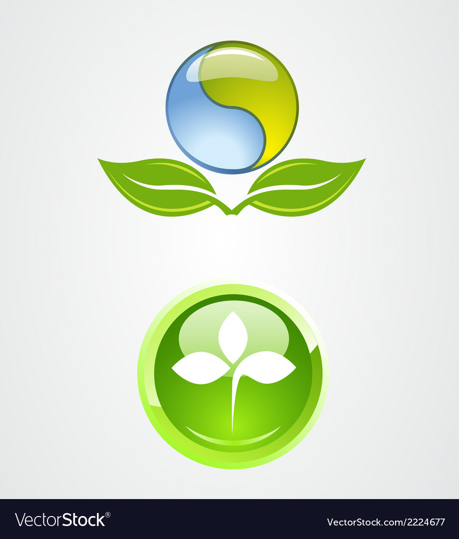 Set of environment logo icon design vector | Price: 1 Credit (USD $1)