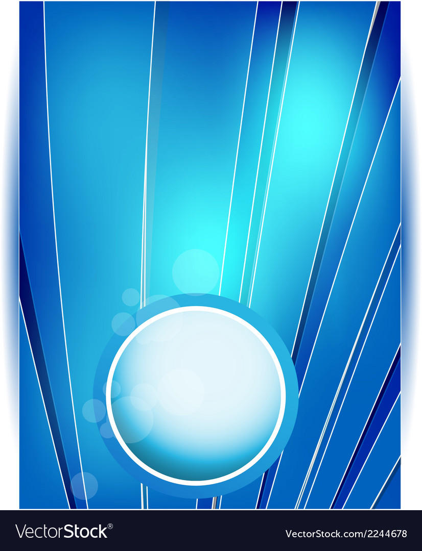 Abstract line and square stripe blue vector | Price: 1 Credit (USD $1)