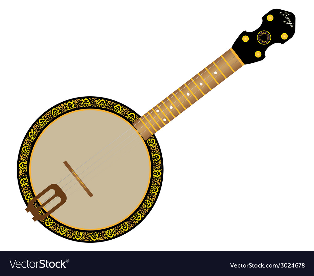 Banjo vector | Price: 1 Credit (USD $1)