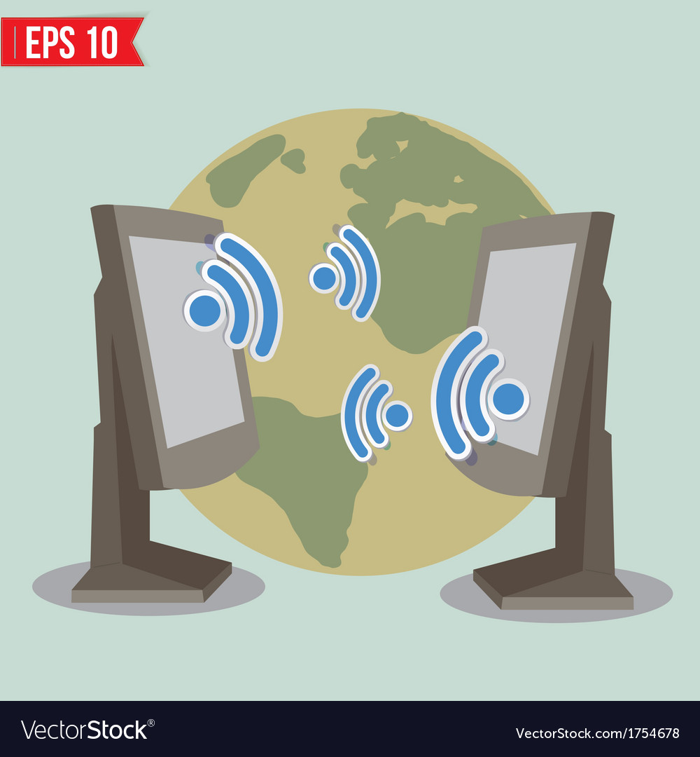 Wireless communication - - eps10 vector | Price: 1 Credit (USD $1)