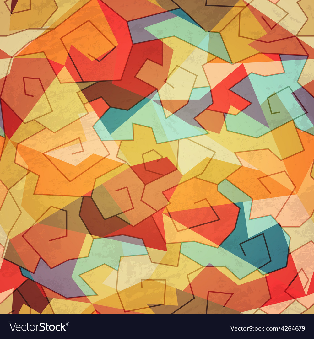 Colored spiral seamless pattern vector | Price: 1 Credit (USD $1)