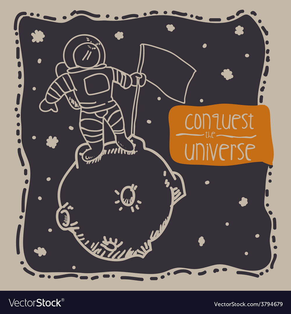 Conquest the universe vector | Price: 1 Credit (USD $1)