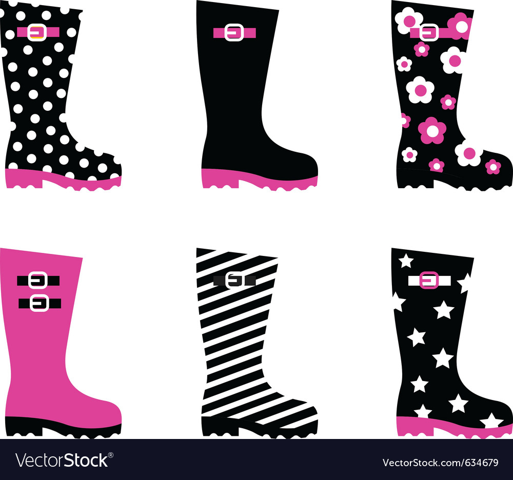 Gumboots vector | Price: 1 Credit (USD $1)