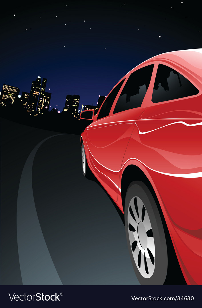 Fast car vector | Price: 3 Credit (USD $3)