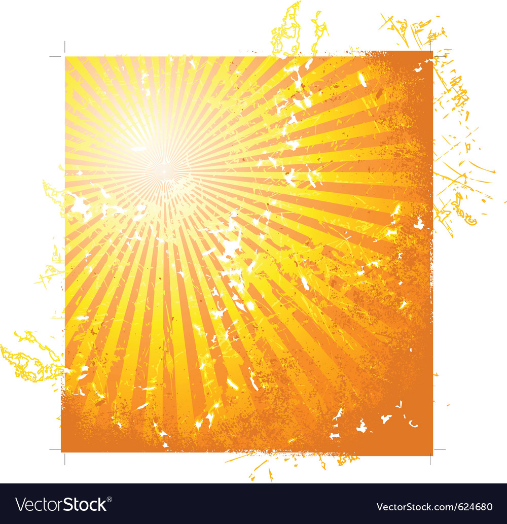 Hot summer sun vector | Price: 1 Credit (USD $1)