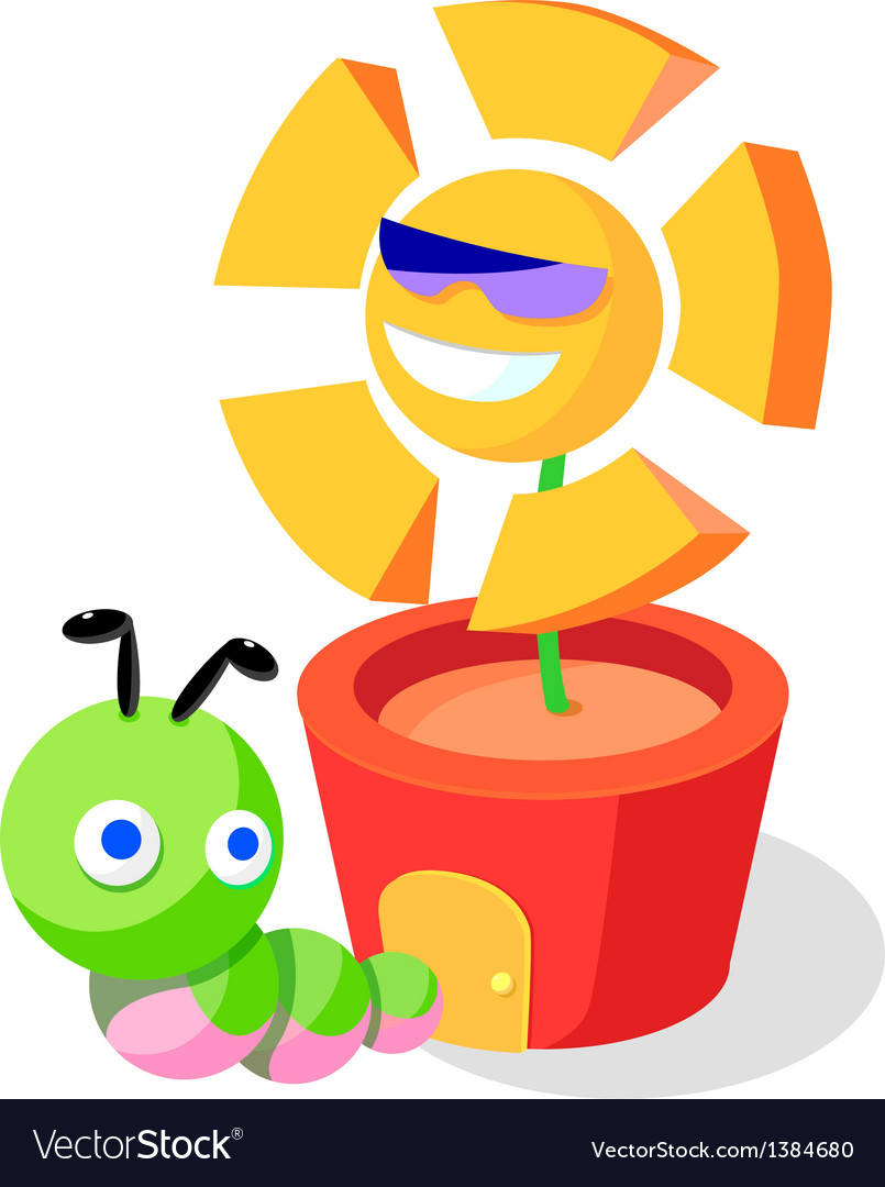 Icon larva vector | Price: 1 Credit (USD $1)
