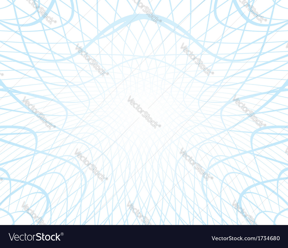 White background with distorted blue grid vector | Price: 1 Credit (USD $1)