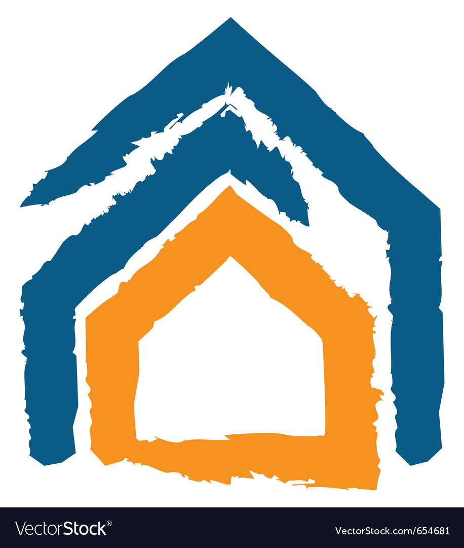 Icon of a house vector | Price: 1 Credit (USD $1)