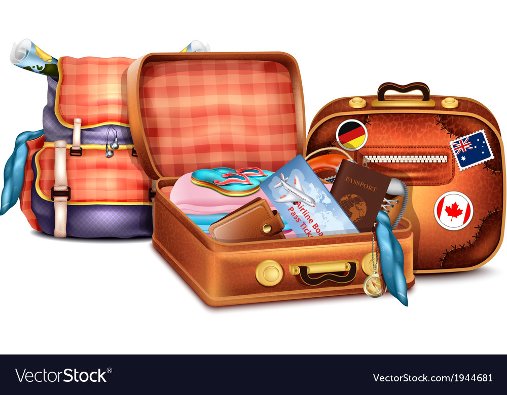Luggage vector | Price: 3 Credit (USD $3)