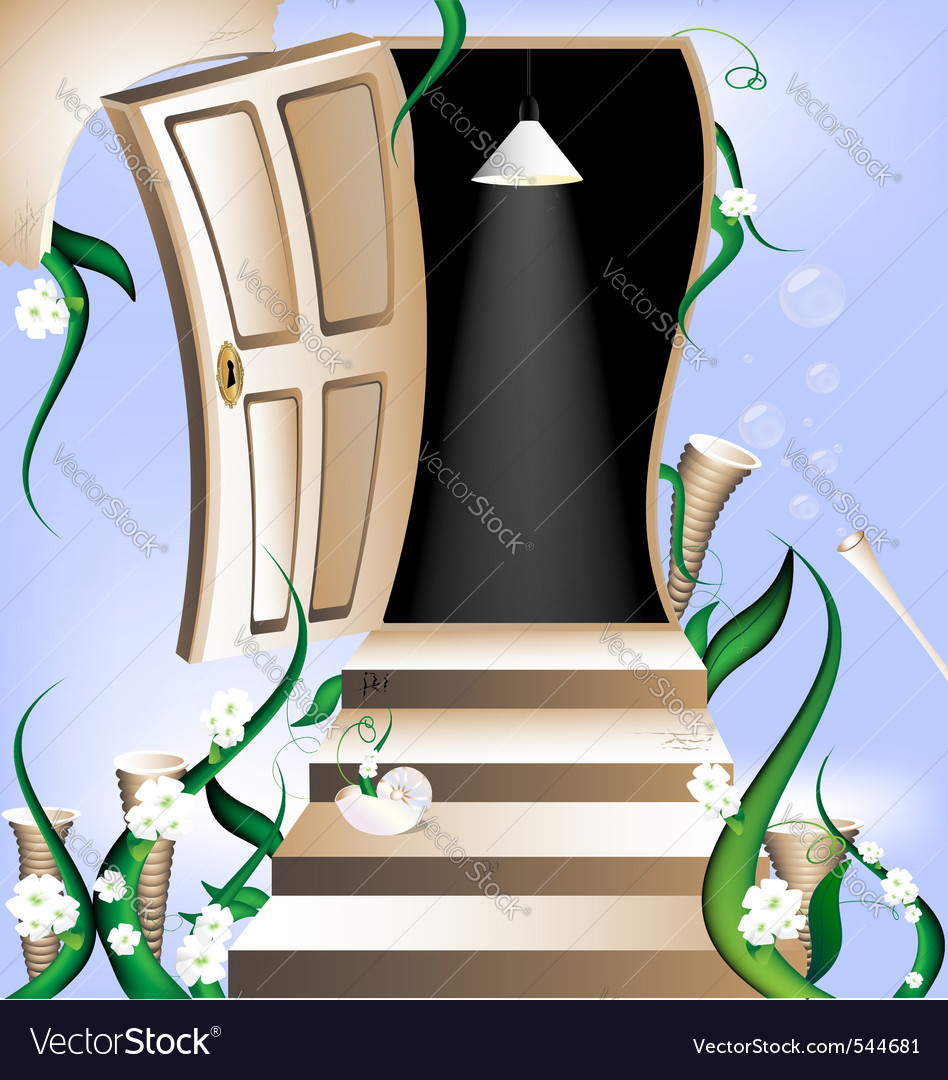 Way to heaven vector | Price: 1 Credit (USD $1)