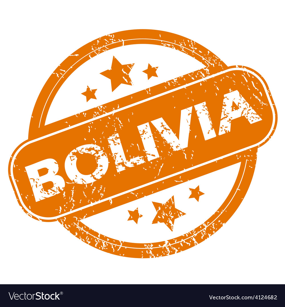 Bolivia grunge icon vector | Price: 1 Credit (USD $1)