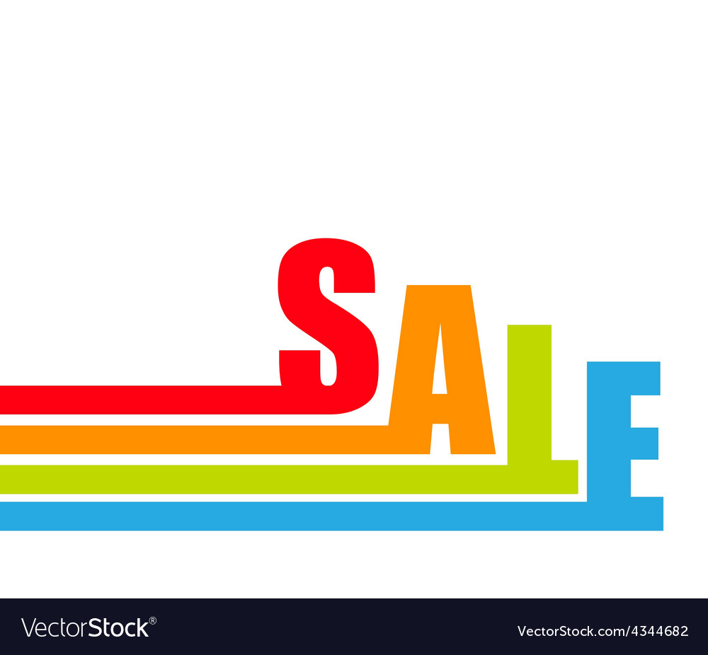 Sale banner with place for your text vector   Price: 1 Credit (USD $1)