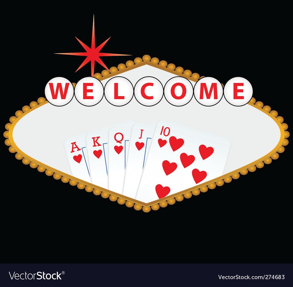 Las vegas and casino vector | Price: 1 Credit (USD $1)
