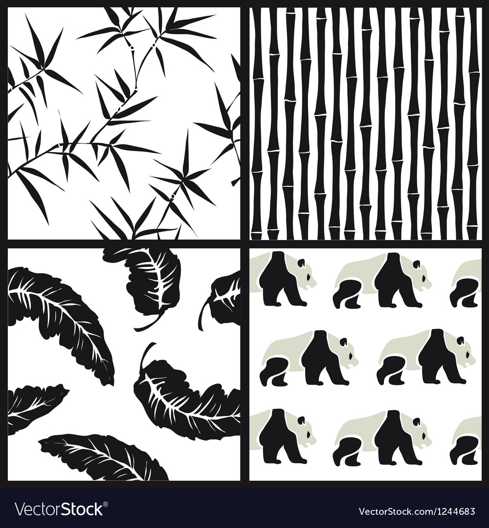 Set of japanese patterns vector | Price: 1 Credit (USD $1)