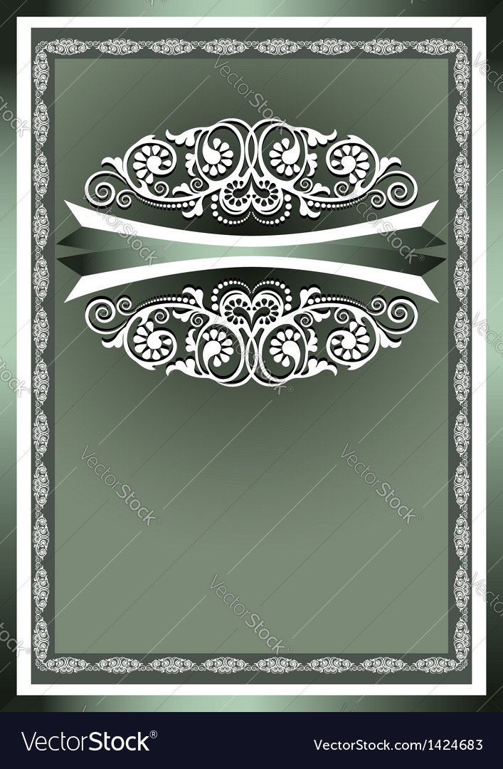 White frame ornaments vector | Price: 1 Credit (USD $1)