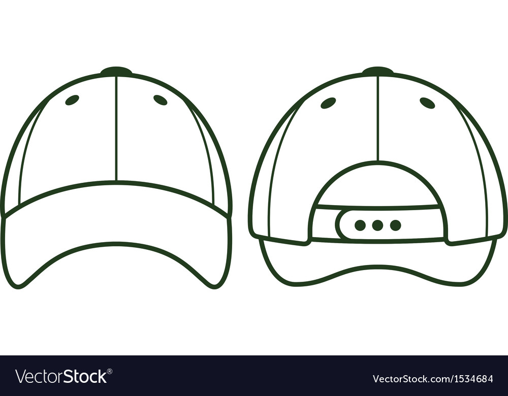 Baseball blank cap vector | Price: 1 Credit (USD $1)