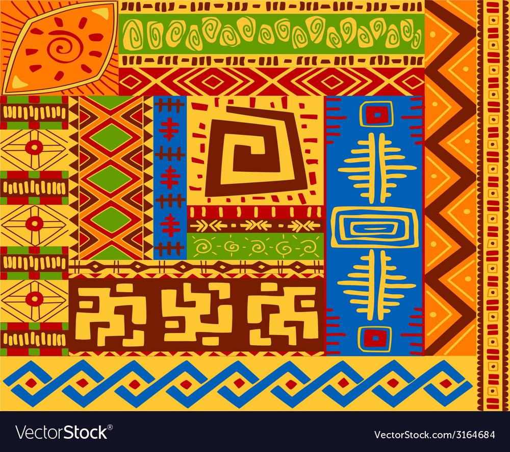 Ethnic patterns vector | Price: 1 Credit (USD $1)