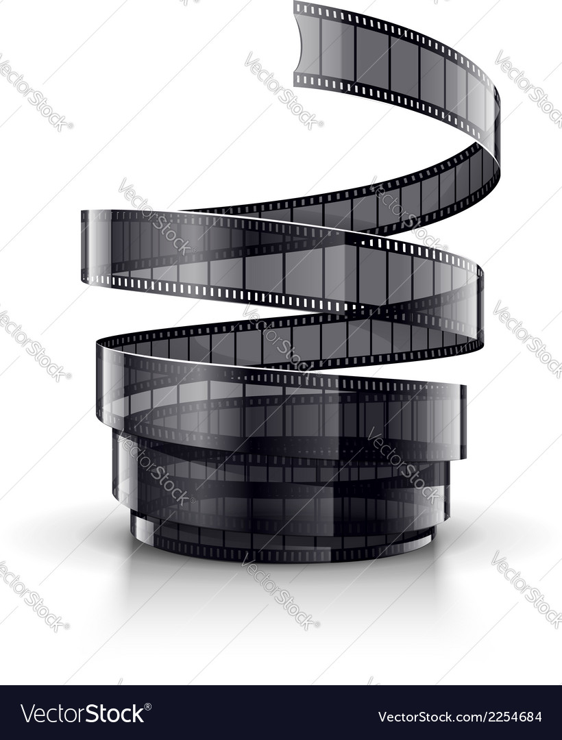 Spiral of cinematography film vector | Price: 1 Credit (USD $1)