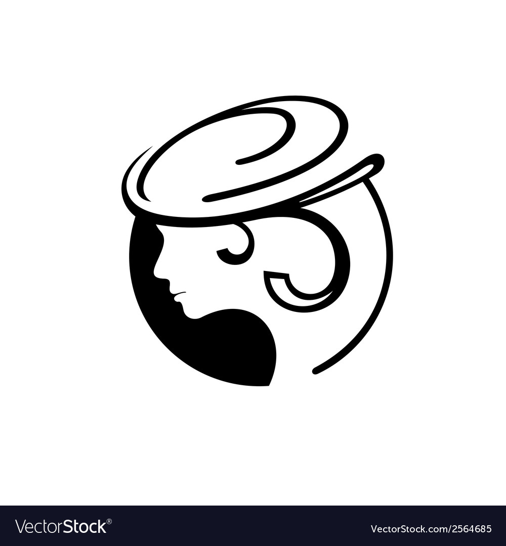 Abstract female sign vector | Price: 1 Credit (USD $1)