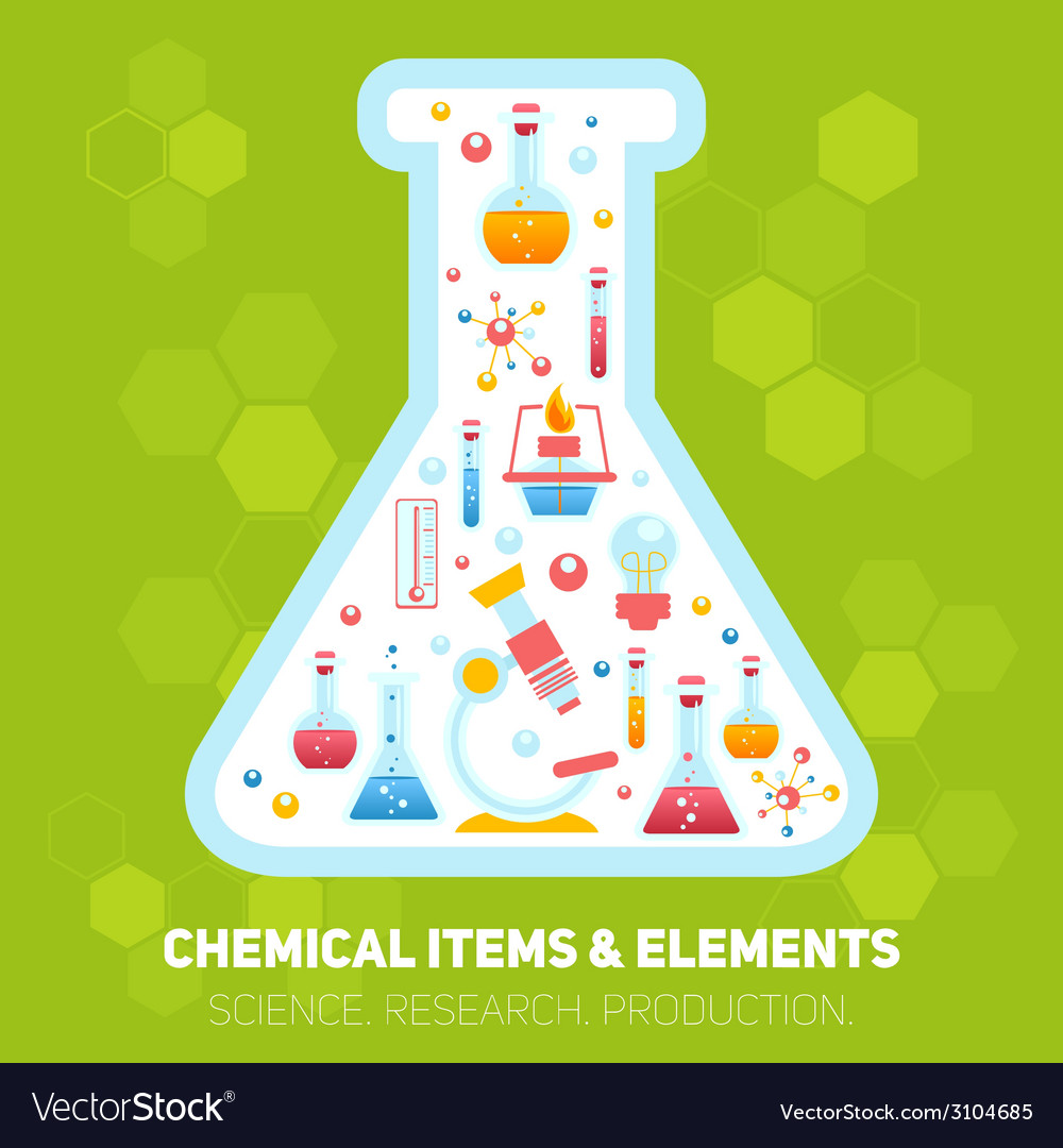 Chemistry infographics composition vector | Price: 1 Credit (USD $1)