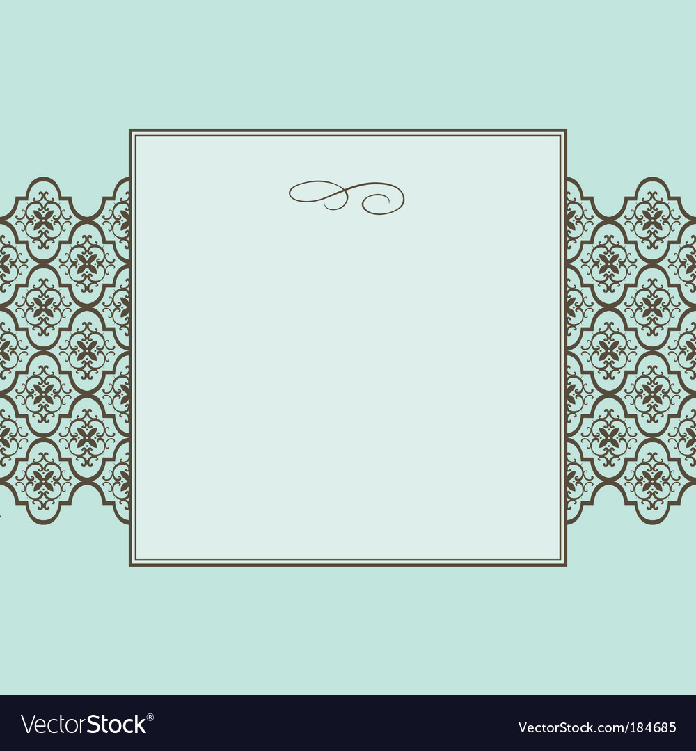 Crest frame vector | Price: 1 Credit (USD $1)