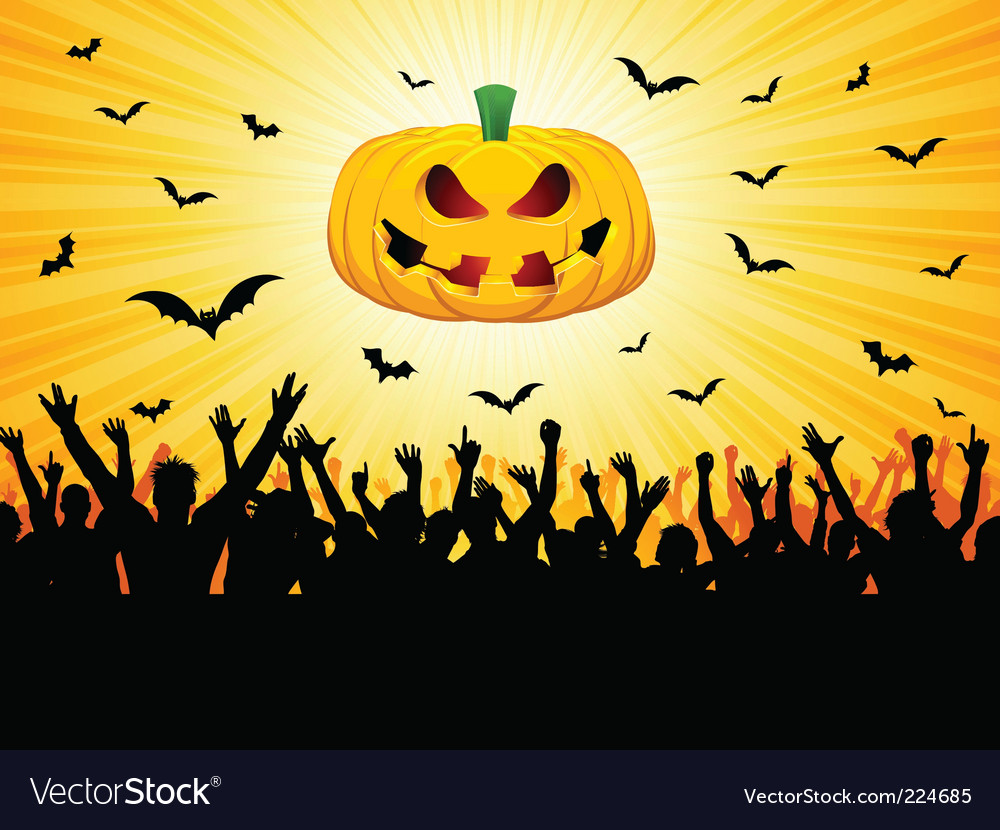 Halloween party vector   Price: 3 Credit (USD $3)