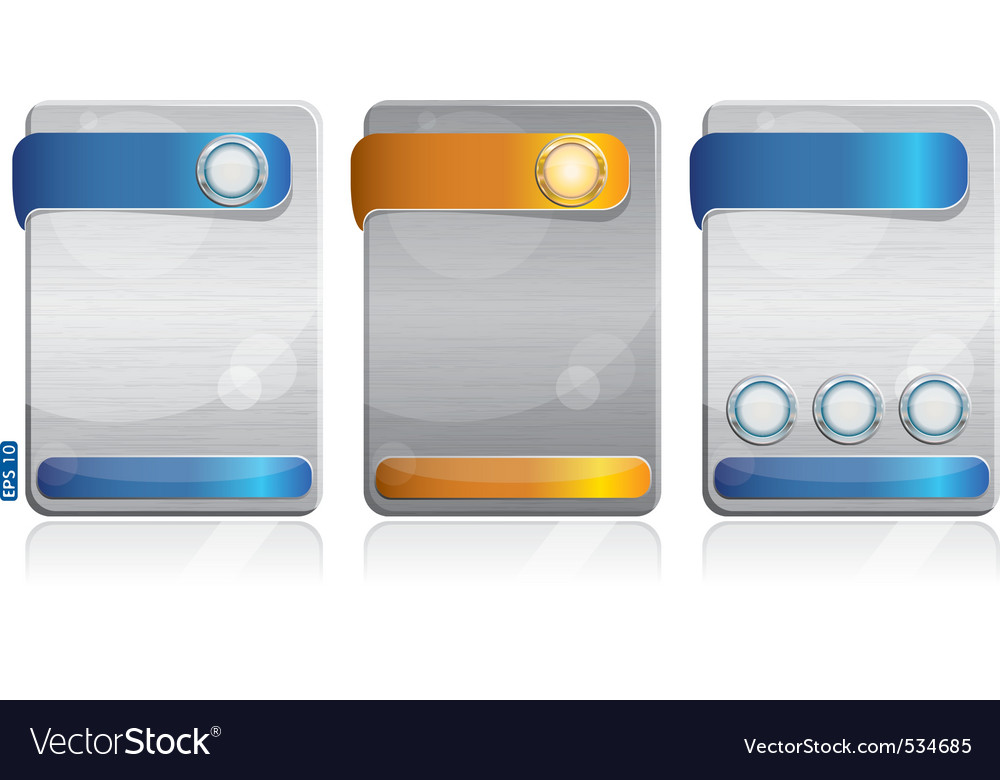 Metal cards vector | Price: 1 Credit (USD $1)