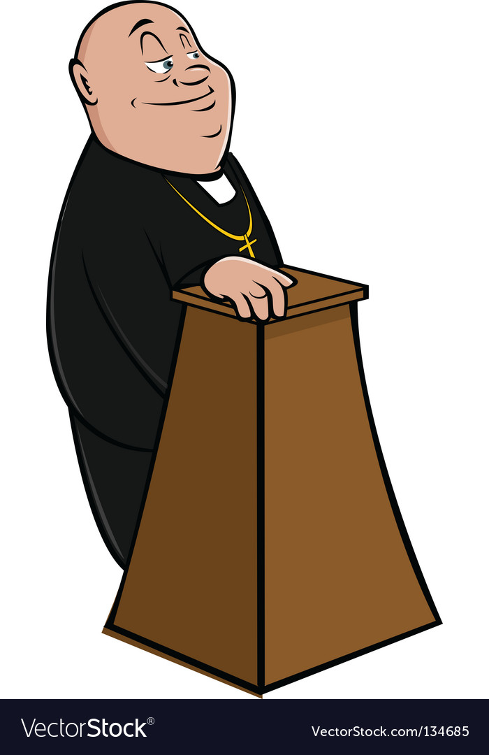 Priest vector | Price: 1 Credit (USD $1)
