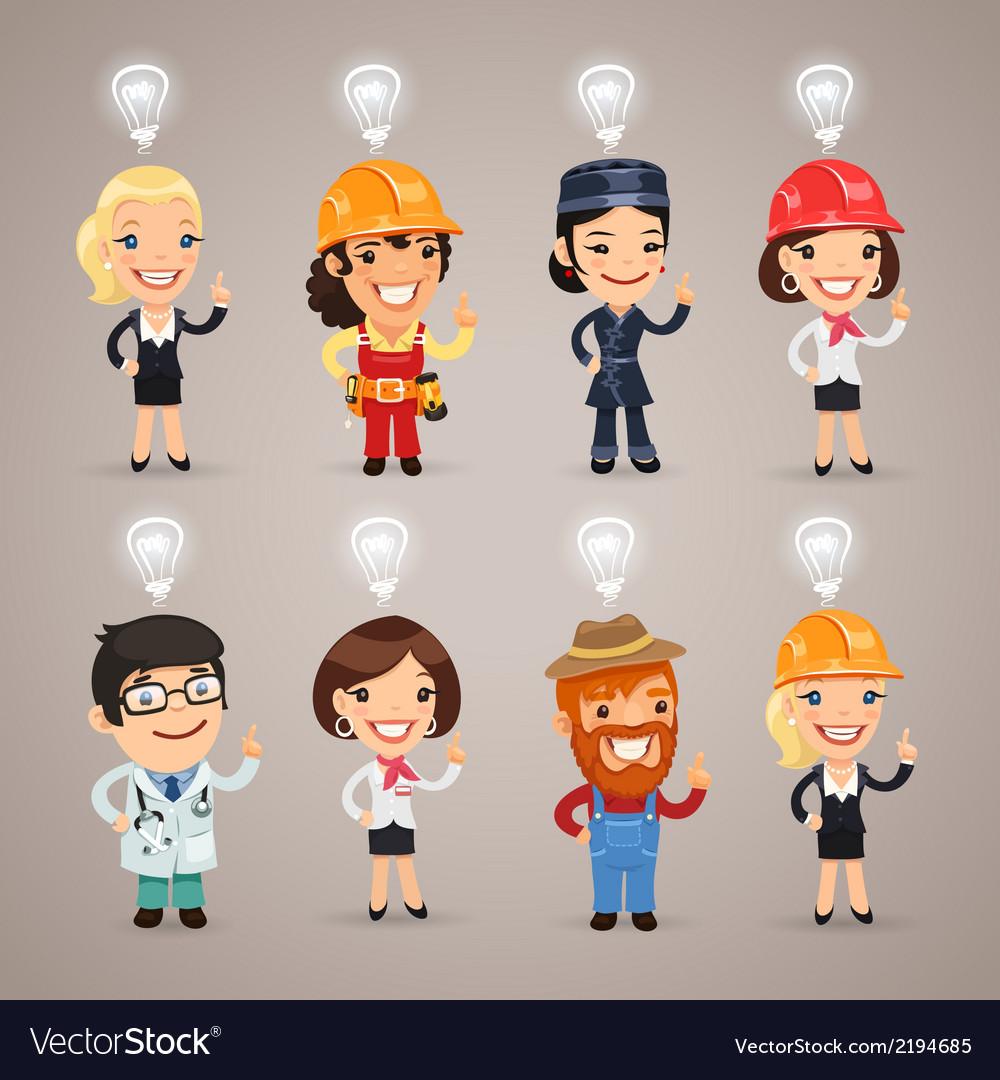 Professions idea set1 vector | Price: 1 Credit (USD $1)
