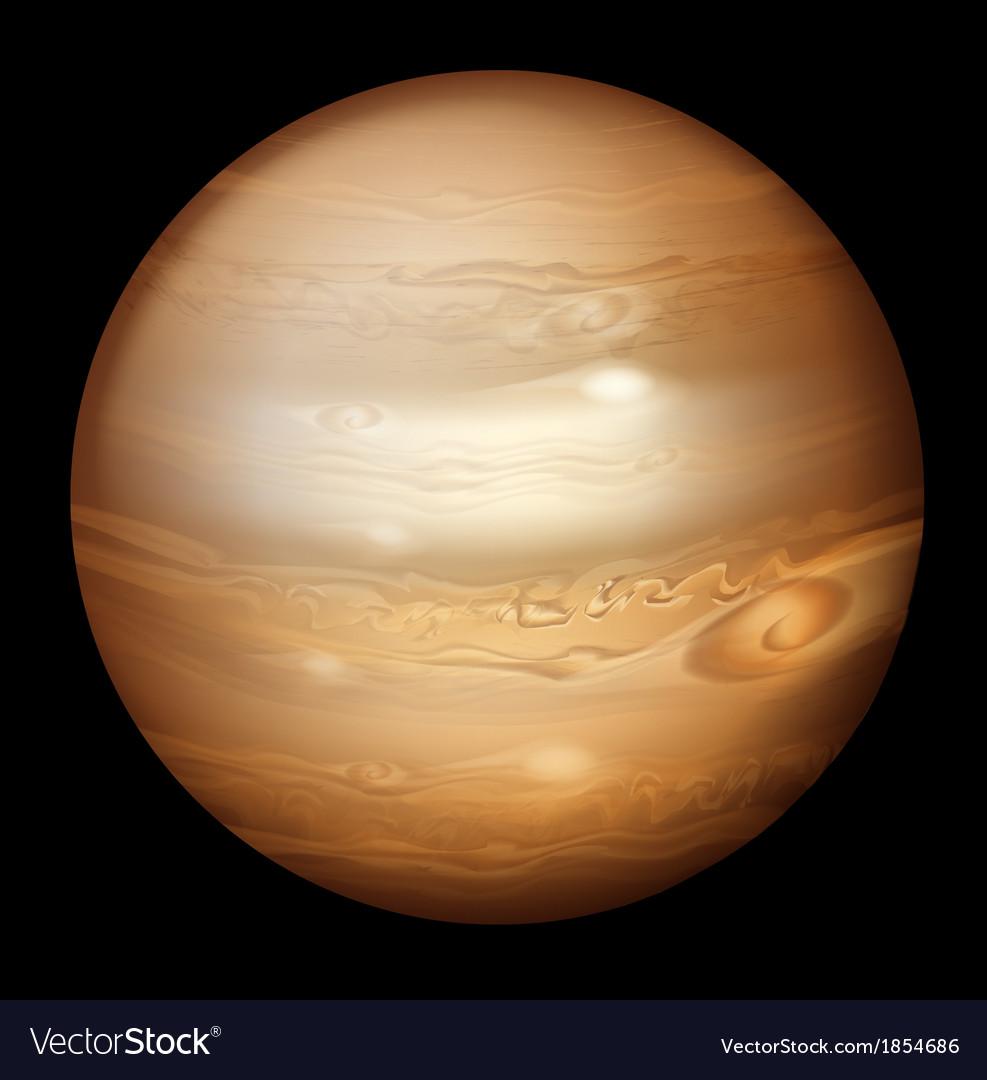 Jupiter vector | Price: 1 Credit (USD $1)