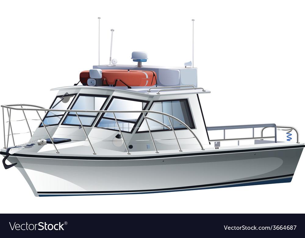 A sea vessel vector | Price: 3 Credit (USD $3)