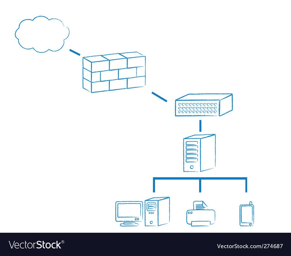 Network vector | Price: 1 Credit (USD $1)