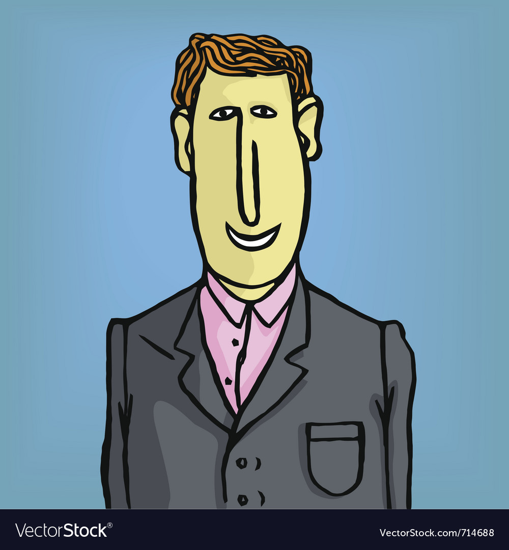 Lawyer businessman vector | Price: 1 Credit (USD $1)