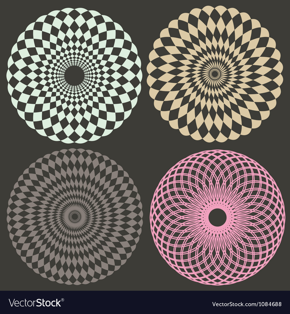 Optical collection vector | Price: 1 Credit (USD $1)