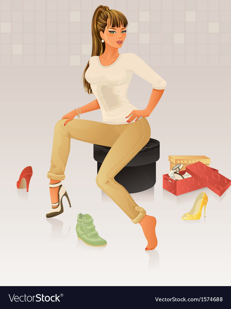 Shopping vector | Price: 3 Credit (USD $3)
