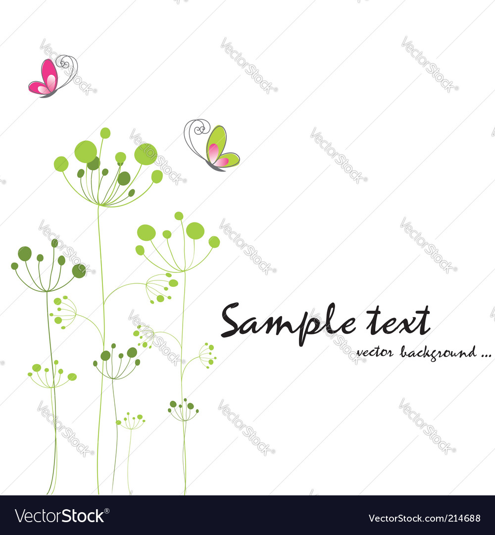 Spring background vector | Price:  Credit (USD $)
