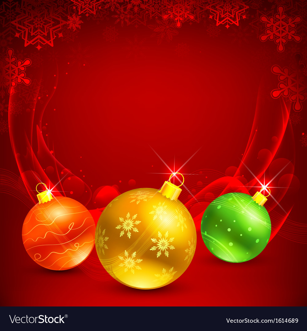 Colorful christmas bauble vector | Price: 1 Credit (USD $1)