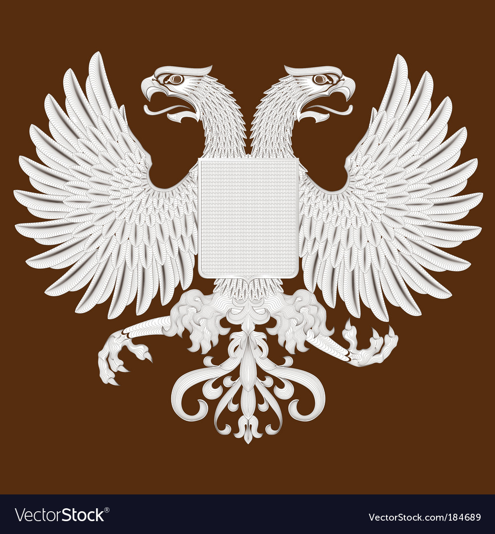 Eagle and shield vector | Price: 1 Credit (USD $1)