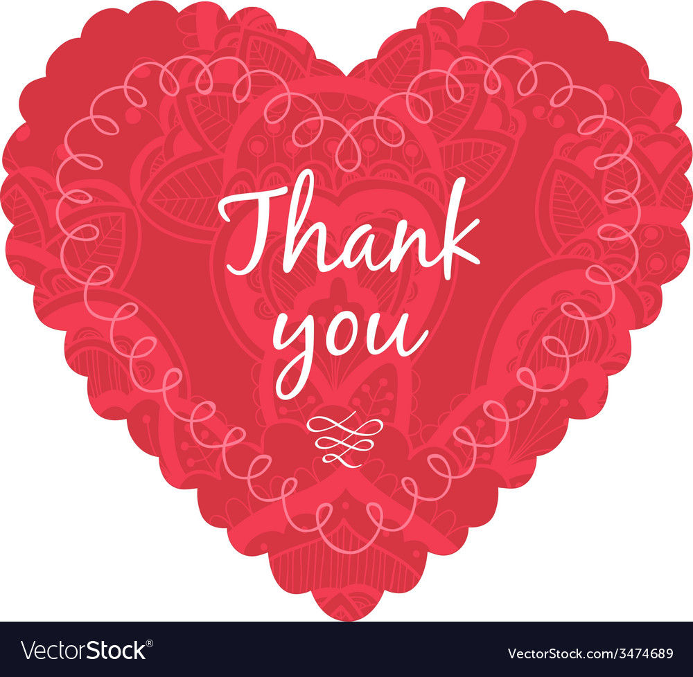 Thank you label vector | Price: 1 Credit (USD $1)