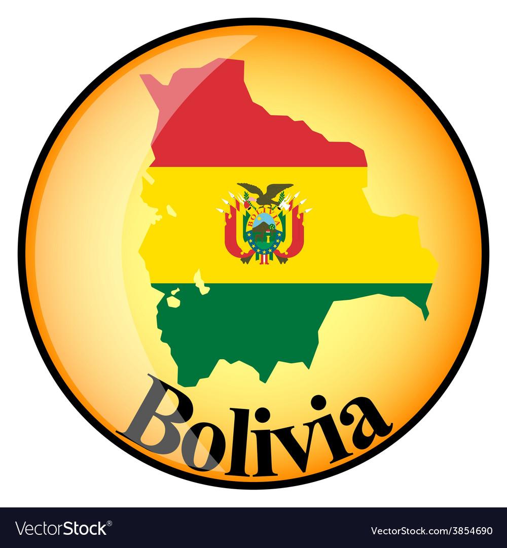 Button bolivia vector | Price: 1 Credit (USD $1)