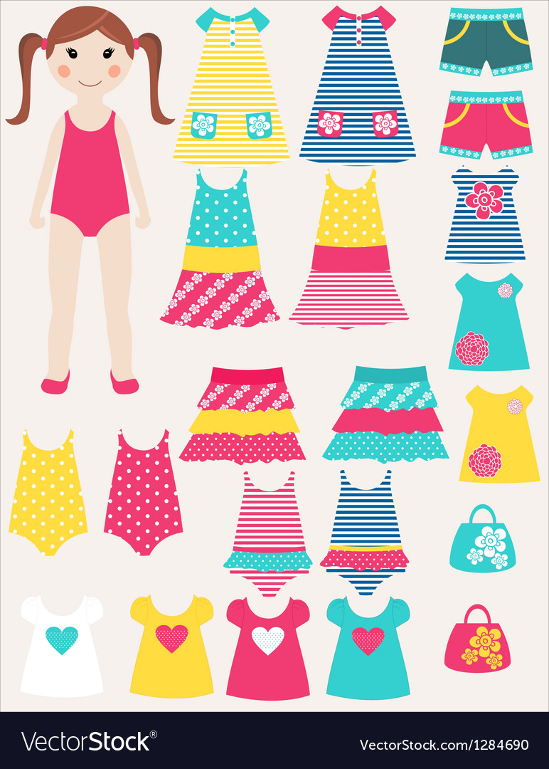 Dress me vector | Price: 1 Credit (USD $1)