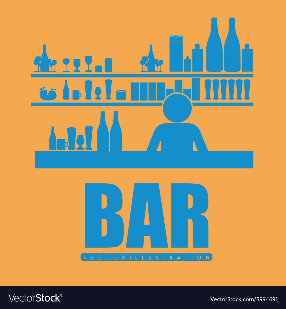 Bar desing vector | Price: 1 Credit (USD $1)